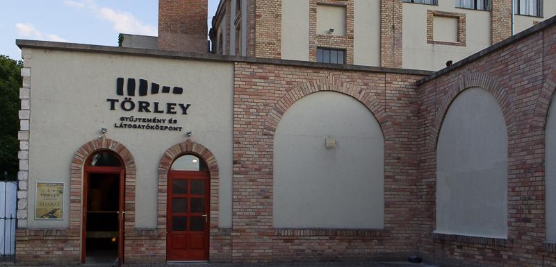 Törley Gyűjtemény és Látogatómúzeum bejárat
