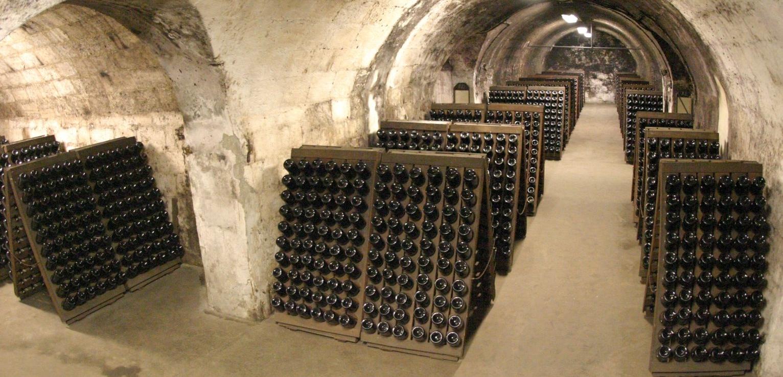A pezsgőkészítés bemutatása